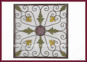 Wire Square Wall Decoration Metal Handicraft Art