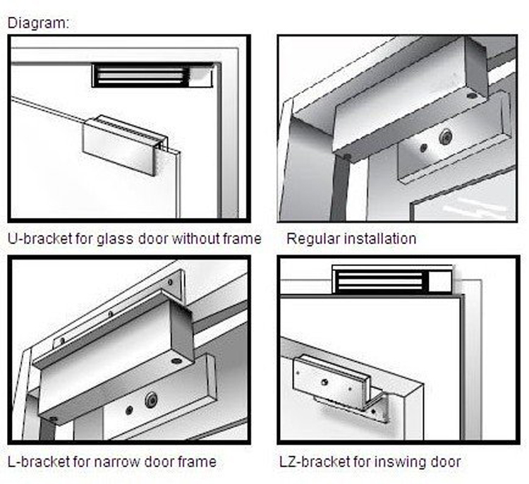Best Price electromagnetic 12v 24v LED light fail safe magnetic door lock  sc 1 st  Alibaba & Best Price Electromagnetic 12v 24v Led Light Fail Safe Magnetic Door ...