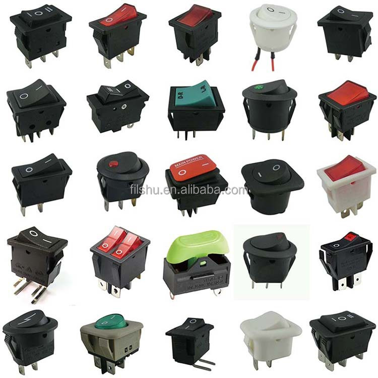 New Wire Marine Products Carling Rocker Switch Labelled