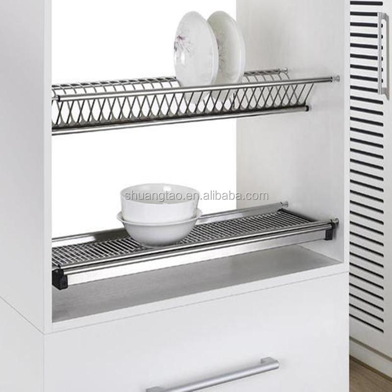 Captivating Wall Mounted Dish Drying Rack/kitchen Cabinet Dish Rack  Ss201/304(guangzhou,China)   Buy Wall Mounted Dish Drying Rack,Hanging Dish  Rack,Kitchen Cabinet ...