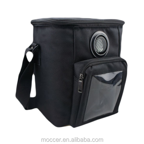 Shenzhen factory OEM 6 cans wineBag with speaker