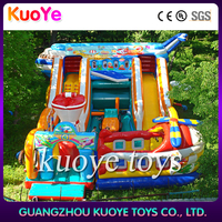 inflatable airplane amusement park trampoline,inflatable trampoline amusement rides,inflatable amusement rides equipment