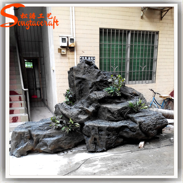 Guangzhou Man Made High Quality Cheap Artificial Fake Rock