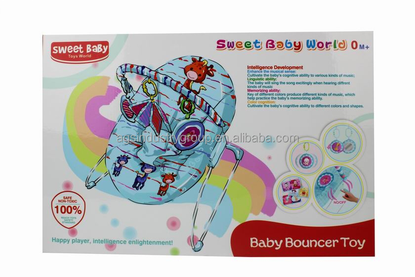 High-quality infant baby Swing chair with small toys for intelligence development