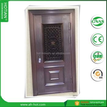 Modern Design Australian Standard Single Copper Entry Doors