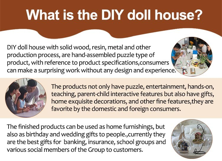 Manufacturer Hot Sale Small Wooden Building Miniature Diy Puzzle Toy House  With Furniture - Buy Toy Model Houses,Miniature Houses For Sale,Toy Houses