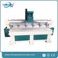 water cooling 3 axis cnc machine wood carving cnc router machine rotary bending machine multi spindle
