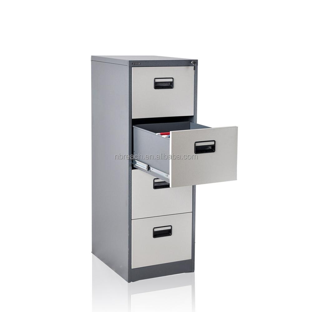 mobilier de bureau index card armoire m tallique acier 4 tiroir verticale classeur classeur. Black Bedroom Furniture Sets. Home Design Ideas
