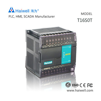 Haiwell T16s0t 16 I/o Points Plc Logic Automation Controller Expension  Original Machine For Smart Home Injection Project - Buy Plc Logic