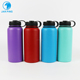 Hawaiian food grade 1 liter flask double wall vacuum insulated seal stainless steel water bottle container China manufacturer