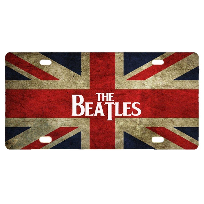 Buy Custom License Plate Print British Flag the Beatles License ...