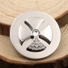 Charm Pendant Charming Stainless Steel Floating Locket Charm Cz Coin Charm Holder Pendant