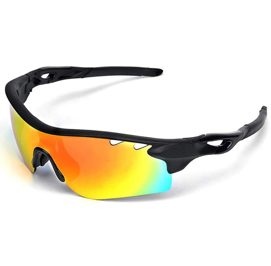 AXLLM Riding Glasses TR Half Frame Outdoor Sports Sun Polarizing Glasses