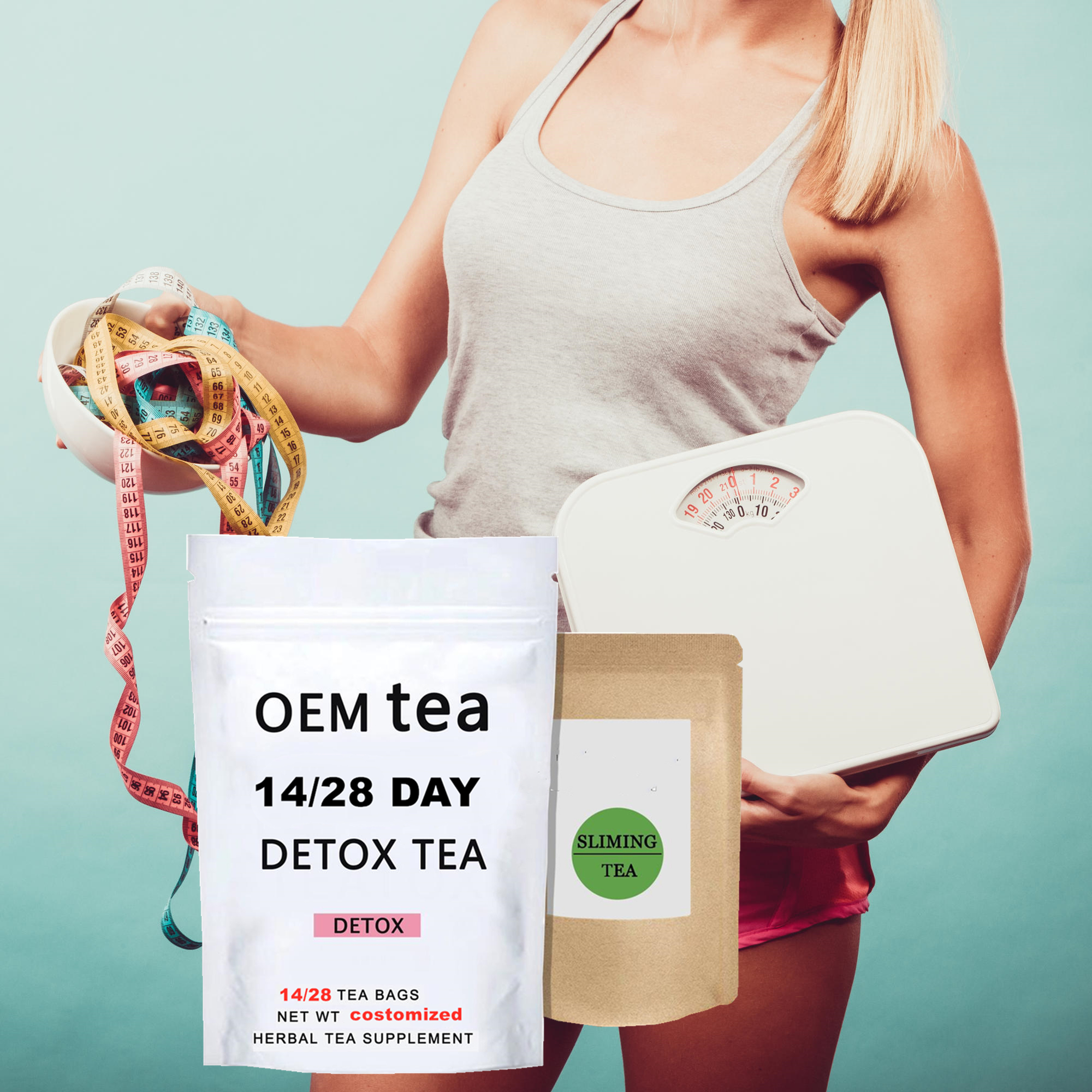 Best Selling Slimming Detox Tea weight loss 14 days 28 days OEM skinny detox tea flat tummy tea - 4uTea | 4uTea.com