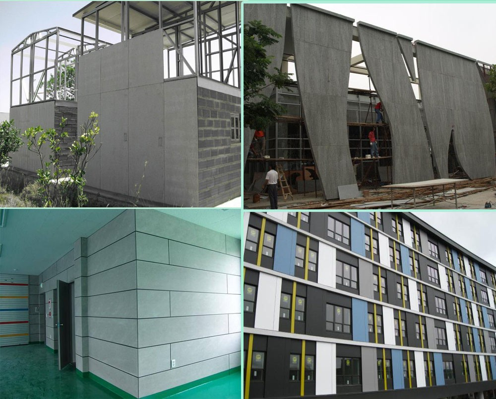 Fire rated cladding exterior wall panel fiber cement board for Fiber cement siding fire rating