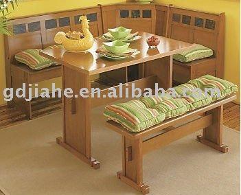Ee uu juegos de comedor mesa de comedor cocina esquina for Mesas para esquinas