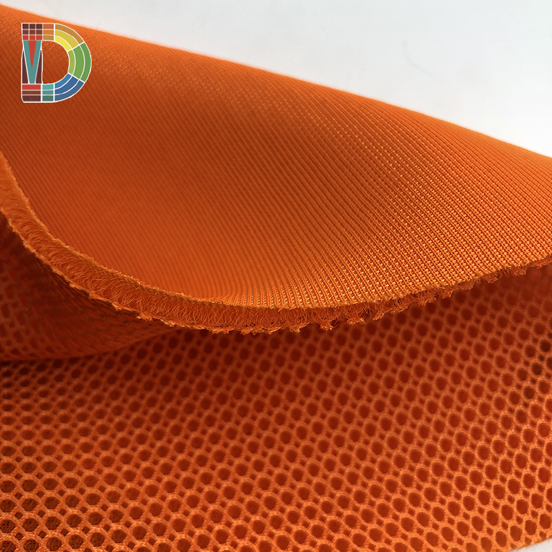 Air layer mesh netting mesh fabric for breathable sports shoes