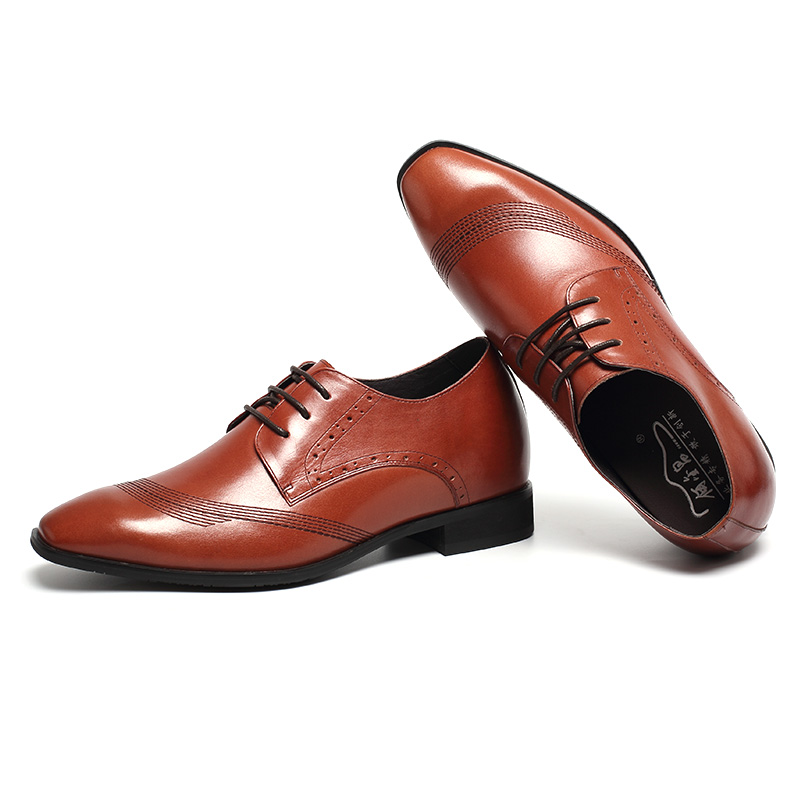 C Height Formal Wholesale With Increasing Leather Shoes Men amp;F Insole Wedding Fashional Dress gwrvgq