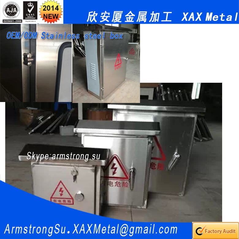 XAX86DB XAX Outdoor power Sub-station electric transformer substation 304 316 ss304 ss316 sus304 sus316 unlock cable tv box