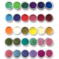 Colored Mica Powder, Magic Coloring Pearl Pigment for Plastics/Resin/Paints/Nail Polish