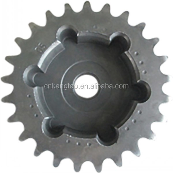 Cheap price Iron motorcycle chain sprocket with powder metallurgy processing