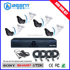 2016 Moins Cher en gros prix p2p HD 720 p H.264 4ch ahd dvr kit BS-T04AD1