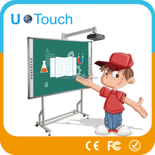Multi size 82 inch multi users electronic infrared touch whiteboard for classroom