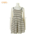 Unique Design Women Dry Cleaning Knitted Casual Dress