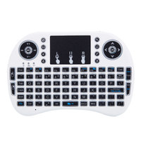 2.4GHz Mini i8 Wireless mouse gaming Keyboard white