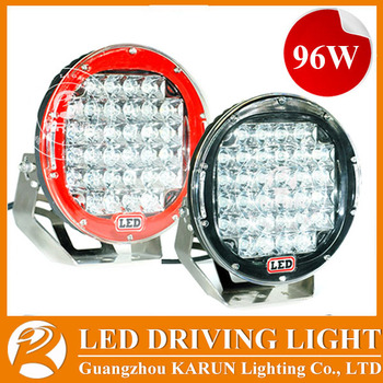 ARB Style 9u0026quot; LED Intensity Light / 96w Round Led Spot Driving