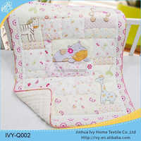 new design baby quilt set horse bedding