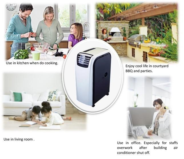 noma portable air conditioner 7000 btu manual