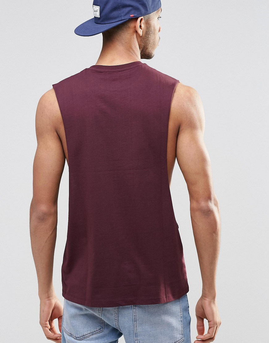 4fec51006575e sport clothing low cut plain gym tank tops 100% cotton drop armhole tank  top online