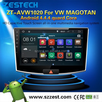 ZESTECH 10.2 inches accessories auto 2 din android 4.4 car gps for VW Magotan with BT WIFI video 3G dvd
