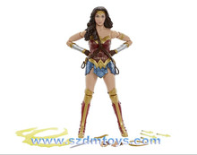 Famous Movie plastic Cartoon Characters Wonder Woman action figure toys