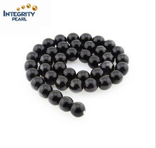 4 6 8 10 12mm agate Brazil wholesale imports black agate loose beads