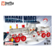 Diy intelligent train model metal construction sets toy