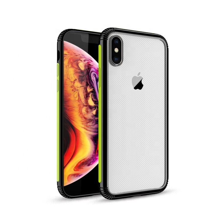 SAIBORO durable protective cases for iphone case custom logo, clear case <strong>cover</strong> for iphone 6 7 8 x xs xr xs max cell phone <strong>covers</strong>