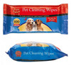 pet cleaning tissue set with eye wipe ear wipe teeth wipe and body wipe