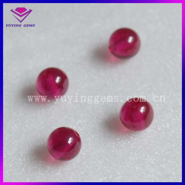 Machine Cut Ruby 5# Corundum Jewel Stone
