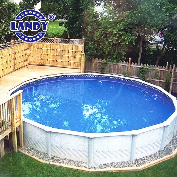 Above Ground Swimming Vinyl Pool Liners Oval Pool