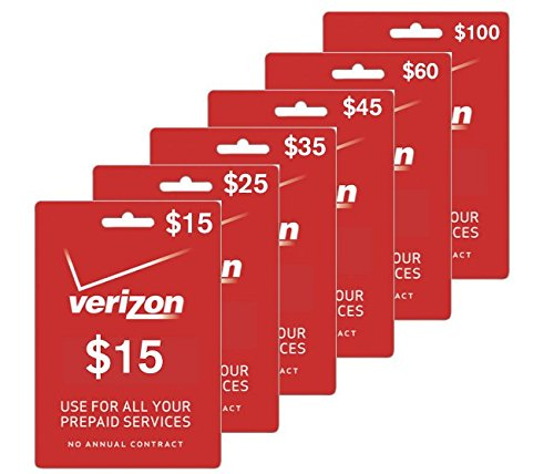 $30 Verizon Prepaid Phone Card | No Shipping | Instant Refill Sent to Your Phone | Must Send Mobile Number (See Description Below) ($30 Prepaid Minutes)