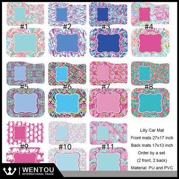 Wholesale Monogrammed Lilly Car Floor Mats Buy Lilly Car