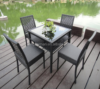 Wondrous Folding Chairs Outdoor Pe Rattan Aluminum Furniture Tempered Glass Top Dining Table With 4 Chairs Plastic Garden Chair Buy Glass Top Dining Table Machost Co Dining Chair Design Ideas Machostcouk