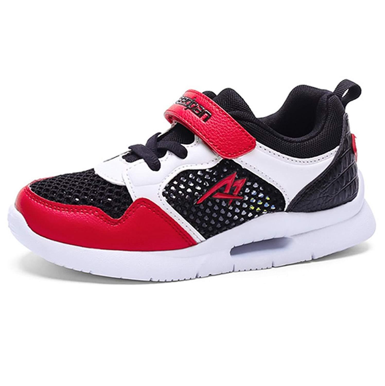 970bdf49f7 Get Quotations · LGXH Summer Big Boy Girls Sports Running Shoes Light up  Mesh Youth Children Kids Casual Walking