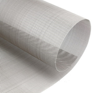 120 micron screen 0.01mm ultra fine stainless steel wire mesh