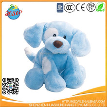 2017 soft baby cute plush dog toy for promotion