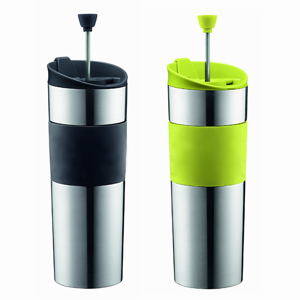 Vacuum Flask Insulated French Press