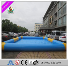 Big and small size inflatable Swimming Pool float pool for sale