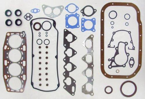 92-95 Mitsubishi Expo LRV 4G93 1.8L 1834cc/4G37 1.8L 1755cc L4 16V SOHC Engine Full Gasket Replacement Kit Set FelPro: HS9887PT/CS9887